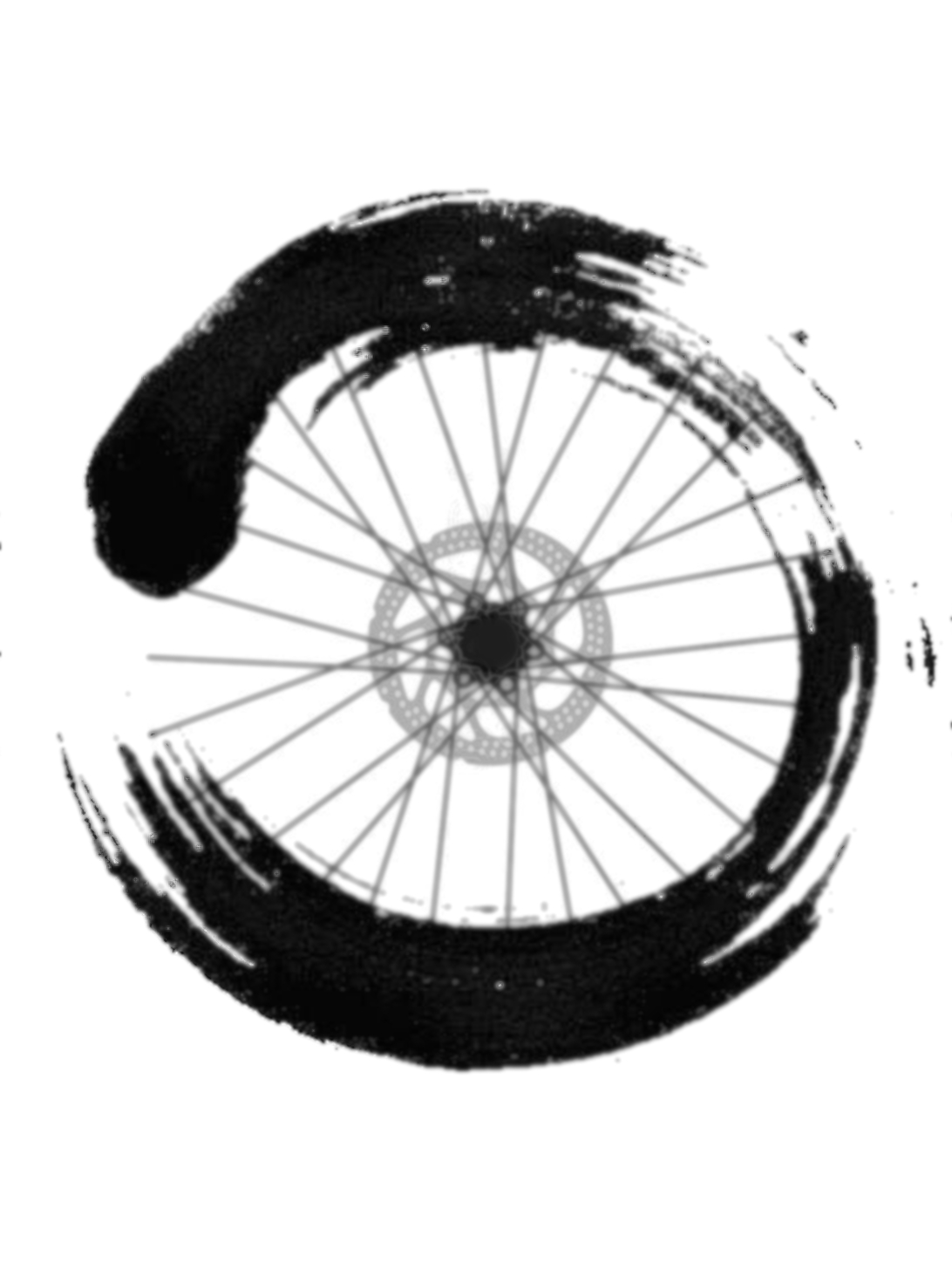 ensō bike wheel - cycle in the zone